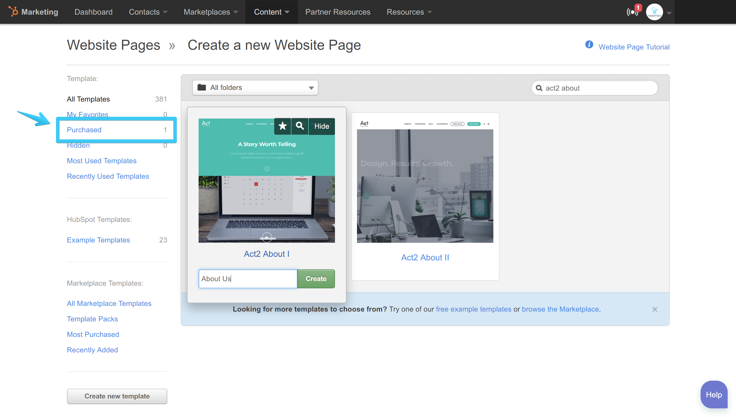 Create A Website Page Neambo - Create web page template