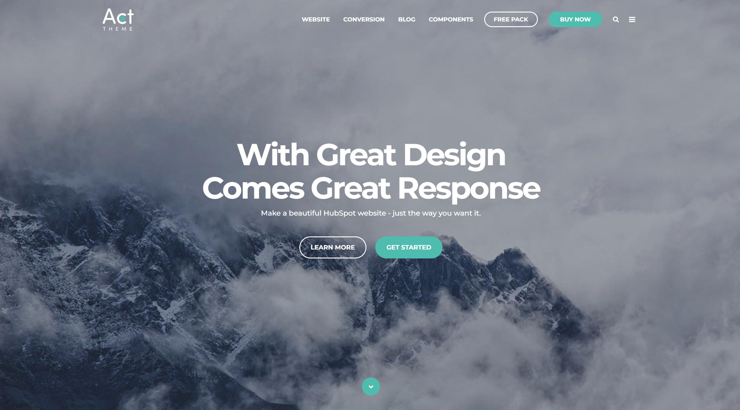 Hero Banner trong web design là gì