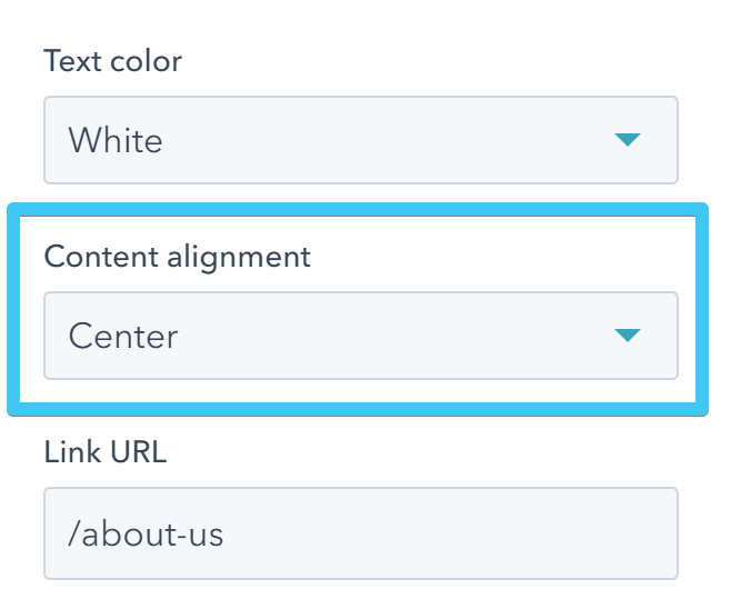 Act2 Page Editor Image Box Content Alignment