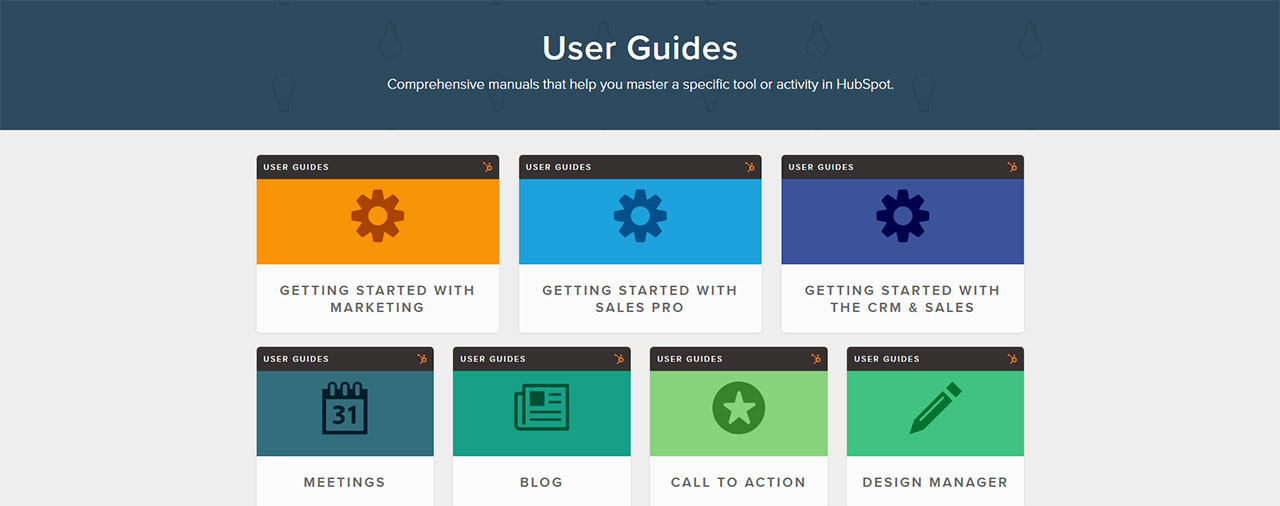 HubSpot Academy | User Guides